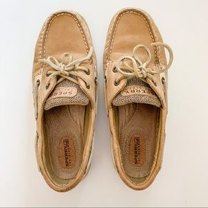 Sperry's Top-Siders Tan Leather 7.5 M